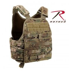 Rothco MultiCam MOLLE Plate Carrier Vest