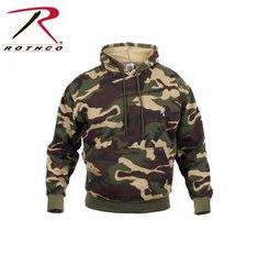 Woodland Camo Pullover Hooded Sweatshirt | 6590