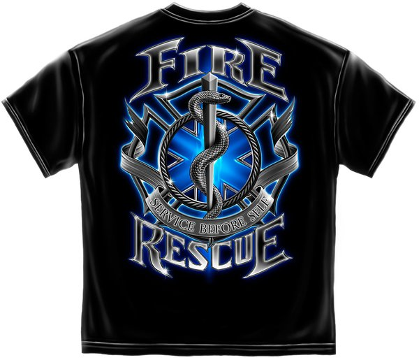 Fire Rescue Firefighter T Shirt Military Surplus And