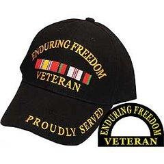 ENDURING FREEDOM VETERAN CAP