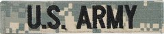 US ARMY Branch Tape-ACU Digital Camouflage
