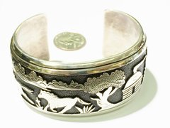 Silver Large Bracelet By Thomas Singer