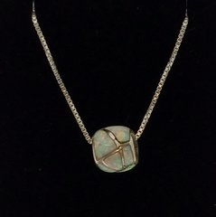 Opal Inlay Nacklace