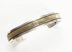 14K-Gold Over Silver Bracelet
