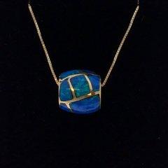 Lab Opal Necklace