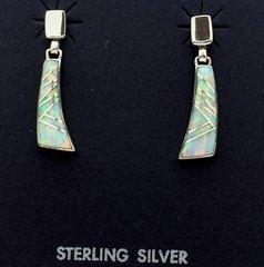 Dangle Lab Opal Earrings