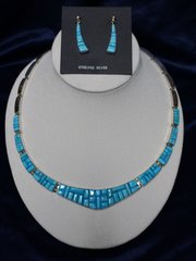 Turquoise Set Necklace and Earring