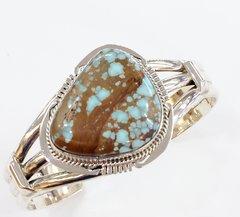 Dry Creek Turquoise Silver Medium Bracelet