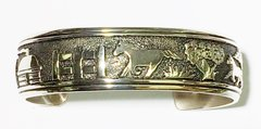 Silver Bracelet By Thomas Singer