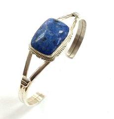 Denim Lapis Sterling Silver Bracelet
