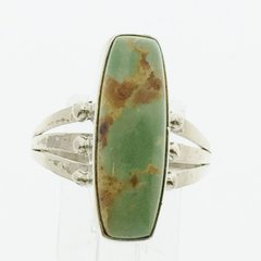 Green Turquoise Navajo Ring