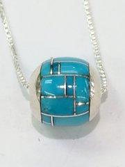 Navajo Silver Bead Necklace