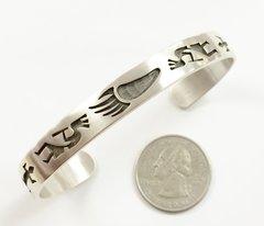 Silver Hopi Bracelet