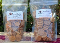 Chicken Broth and Bacon Treats 16 OZ