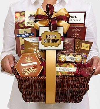 Happy Birthday Deluxe Balsam Basket
