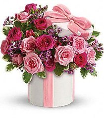 Hats Off To Mom With Roses