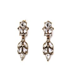 Vintage Style Drop Earrings