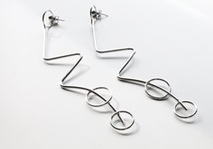 Silver Journey Earrings