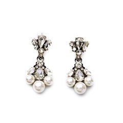 Pearl Burst Earrings