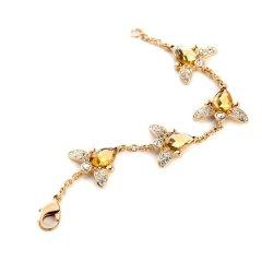 Honeybee Crystal Stones Bracelet