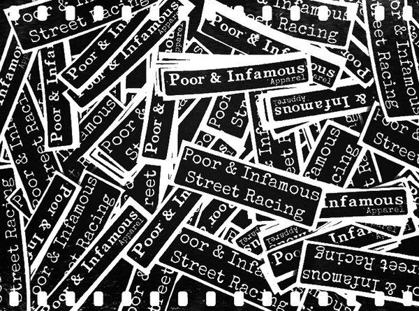 Printed Logo Stickers