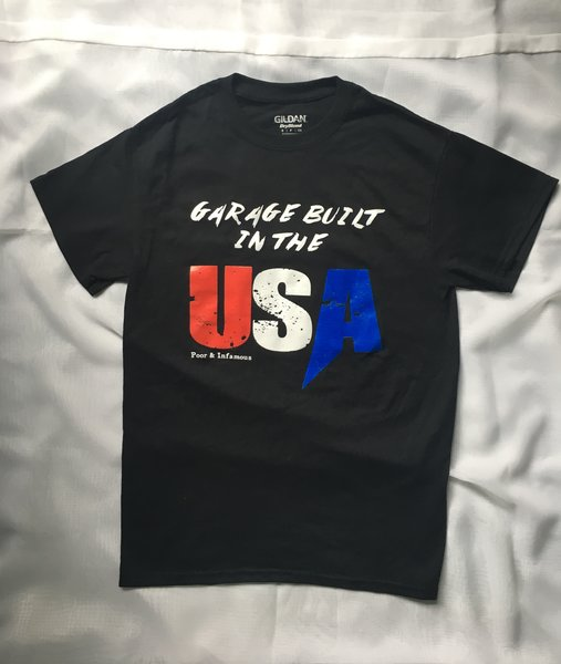 *CLEARANCE* Garage built in the USA, Raced in Mexico Tee