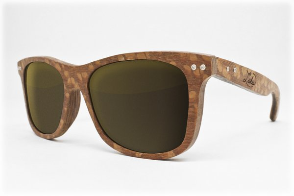 LEOPARDWOOD FRAMES: FLASH GOLD