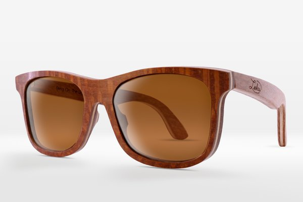 LEOPARDWOOD FRAMES: CLASSIC BROWN