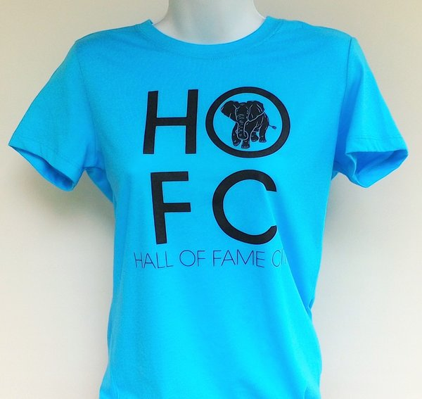Women's Blue Blue Hall Of Fame City Tee