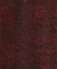 IRM30 - Red Mohair with Black Tips - $27.95