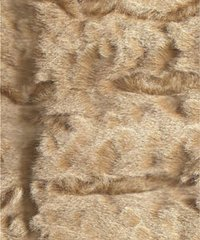 syn30 - Distressed Light Brown Underfur with White Tips French Faux Fur - $15