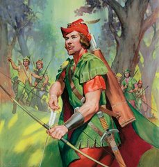 Robin Hood Classic Old Time Television Collectors Treasury
