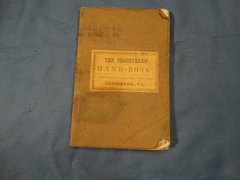 "1861 ""THE VOLUNTEERS' HANDBOOK"" Richmond Publication"