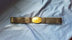 US BELT AND PUPPY PAW BUCKLE