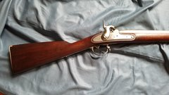 1842 MUSKET SPRINGFIELD DATED 1844