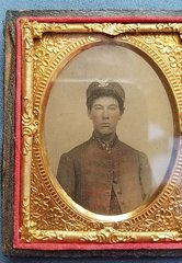 CONFEDERATE SOLDIER AMBROTYPE