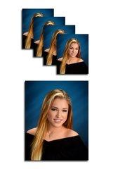 G Package - 1 Pose Economy 5 Portraits 1-8x10, 4-4x5