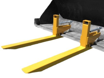 clamp to bucket pallet forks for tractor or skid steer ...