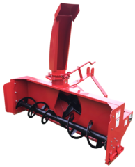 "Snow Blower, 50"" - 80"", 3 point hitch, with SHIPPING INCLUDED to freight terminal"