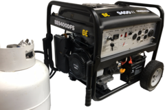 BE 9400 watt DUAL FUEL generator with SHIPPING INCLUDED to freight terminal