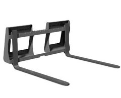 "Skid Steer style quick attach pallet forks, 1200 lb capacity, 42"" forks with SHIPPING INCLUDED to freight terminal"