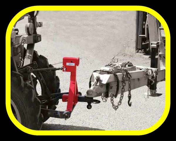 3 Point Tractor Draw Bar Supplies : Point hitch receiver draw bar tractor implements