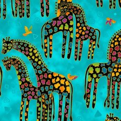 Mythical Jungle by Laurel Burch