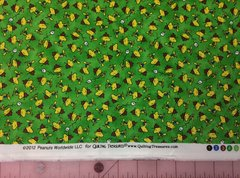 Woodstock Toss - Green by Quilting Treasures