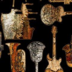 Textured Musical Instruments by Dan Morris