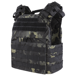 Cyclone Lightweight Plate Carrier in MultiCam Black by Condor
