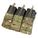 M4 Open-Top Triple Stacker Mag Pouch in Crye Precision MultiCam