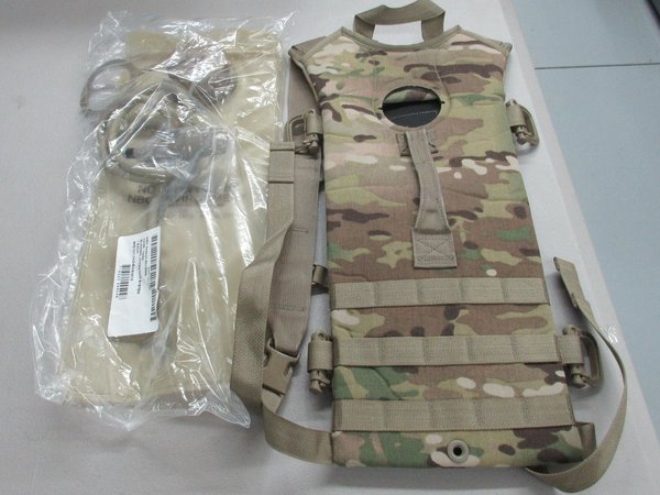 Multicam Camelbak (new Coyote bladder in plastic)