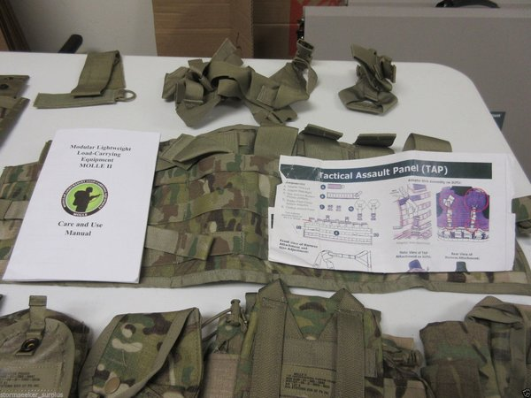 TAP Vest PLUS 9 pouches in Multicam -- NEW * Sealed in original packaging *