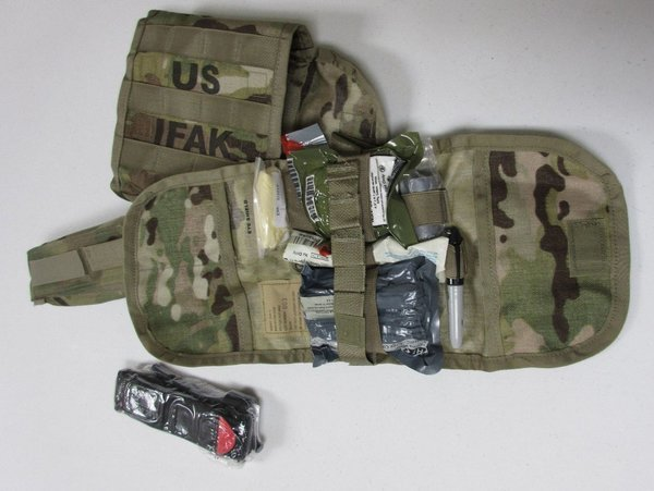 IFAK 2 in multicam and OCP Scorpion with sealed CAT